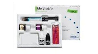 Dental Multilink N System Pack Ivoclar Vivadent Long Expiry Free Ship