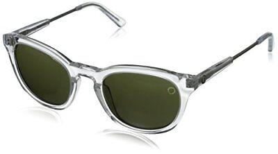 Electric Visual Txoko Sunglasses, Crystal/Melanin Grey, 49 mm