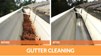 Fast and affordable gutter cleaning