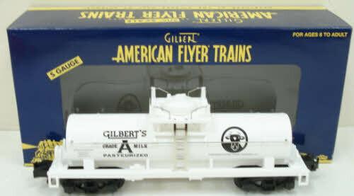 American Flyer 6-48239 S Scale TTOS 2005 Milk Tank Car LN/Box