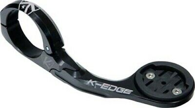 K-EDGE Pro Garmin XL Handlebar Mount: 31.8mm, Black