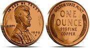 Copper Penny Bullion