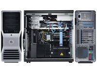 Dell Precision 690 / 12 GB Ram / GTX 650 Ti / 2TB Memory / Intel Xeon 4x2.0