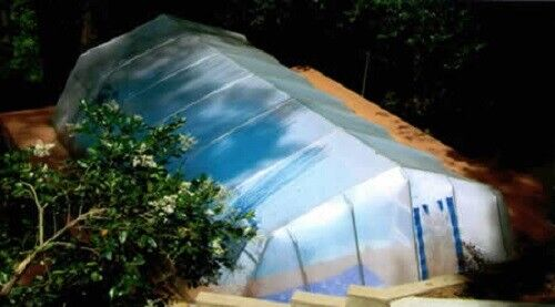 In-Ground Pool Cover - Fabrico Sun Dome- 20 FT x 36 FT Dome- USA MADE