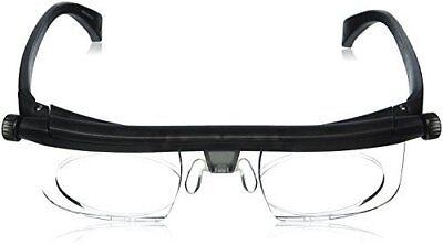 Non Prescription Adlens Adjustable Glasses 20/20 Vision Eyewear by Huntington
