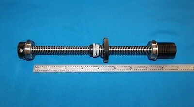 6 Acme Leadscrew 12-10 With Delrin Nut Bearings Clamp Coupler For Cnc Router