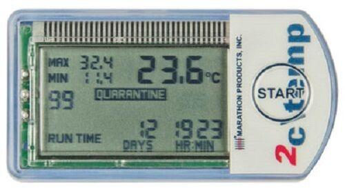 Quantity of 20 Compact, Multi-Use, LCD Temperature Data Loggers