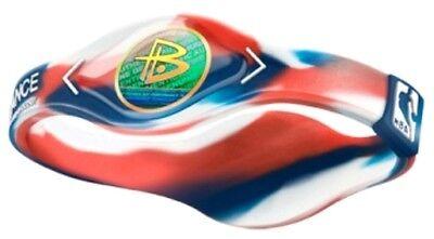 BRACCIALETTO PALLACANESTRO POWER BALANCE BASKET-NBA LOGO - XS/S/M/L/XL