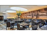 Breakfast, lunch, Dinner Waiting staff in 5 Star London Hotel
