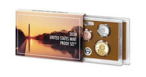 2020 S US Mint Proof Set - 10 Coins - No Extra W Nickel