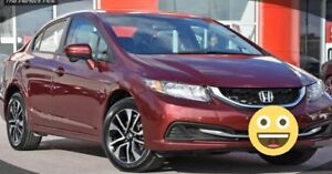 2015 Honda Civic EX Sedan mint condition!