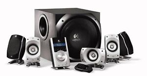 LOGITECH Z5500 5.1 Theatre Surround System (COMPLETE SET) PERFECT Camden Park Wollondilly Area Preview