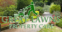 Great Lawns Property Care - Affordable, Personable, & Dependable