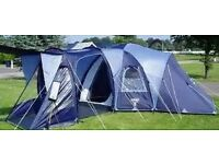 Excellent condition 6-9 bed tent. With carpet and ground sheet RRP £700!