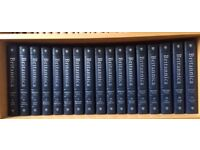 Encyclopedia Britannica, Science and the Future and Britannica annuals books like new