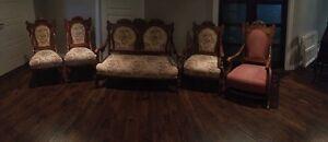 Set salon antique