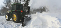 snow blowing/plowing