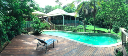Idyllic location close to Mullumbimby/Byron Bay