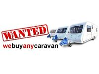 WE WILL BUY YOUR TOURING CARAVAN NATIONWIDE COVERAGE ANY YEAR ANY MODEL