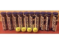 RRP £60 Tennis balls - Excellent condition 10 cans of 4 Babolat tennis balls
