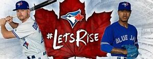 BELOW COST TORONTO BLUE JAYS TICKETS MANY GAMES