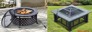 Fire Pits with BBQ Grill