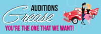 Auditions for Grease: You're the one that we want!