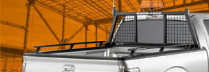 Backrack and Side rails for Puckup Truck