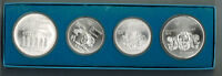 1976 Montreal Olympic Games Silver 4 Coin Set's