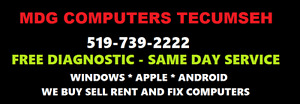 MDG COMPUTERS TECUMSEH  - for all your computer needs