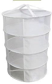 4 tier drying rack 24 inch diameter