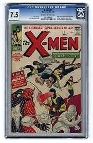 10 Comic Grab Bags... X Men #1 CGC + #4 and #9