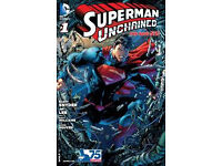 Superman Unchained (2013) #1, features artwork by Jim Lee