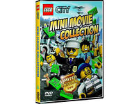 1000 Limited Edition LEGO City Mini Movie DVD - Brand new sealed