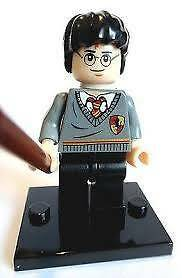 Harry Potter Minifigure (Hogwarts Robes) - Compatable Wynn Vale Tea Tree Gully Area Preview