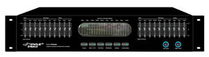 NEW-Pyle-PPEQ200-Rack-Mountable-Dual-10-Band-Graphic-Equalizer-Spectrum-Display