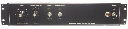 FRENZEL RD-47 Mic  Tube Preamp