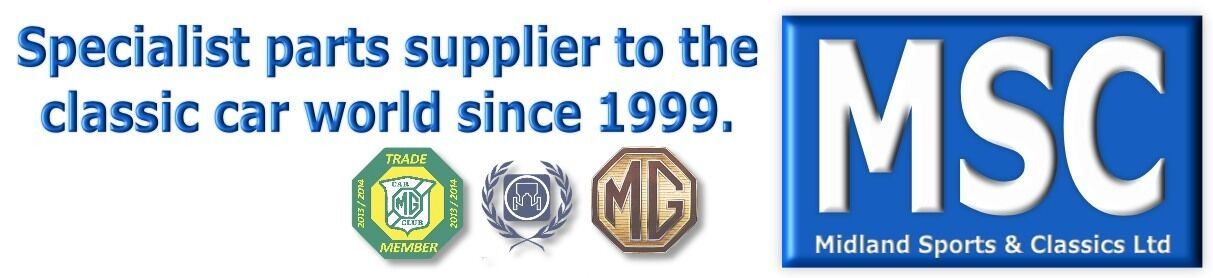 MG PARTS AND ACCESSORIES