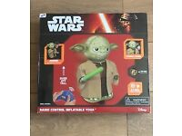 Star Wars Radio Controlled Inflatable - Yoda - Brand New, & Unused