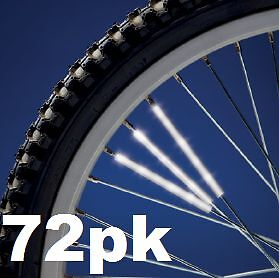 Spoke Reflectors 3M Scotchlite Bike Wheel cycle bicycle cycling 3/6/12/36/72