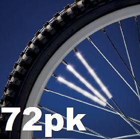 Spoke Reflectors 3M Scotchlite Bike Wheel cycle bicycle cycling 3/6/12/36/72