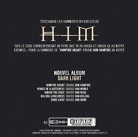 NEW|HIM-Dark Light-CD-Wea