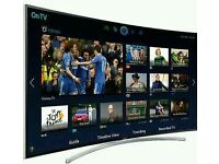 """SAMSUNG 48"""" Curved 8 series LED smart tv 3D wifi HD freeview full hd"""