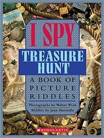 BRAND NEW - I SPY TREASURE HUNT - HARDCOVER