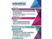 1 Sunday Wireless ticket
