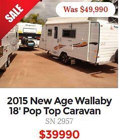 CARAVAN / CAMPER AND POP TOP CLEARANCE SPECIALS Midland Swan Area Preview