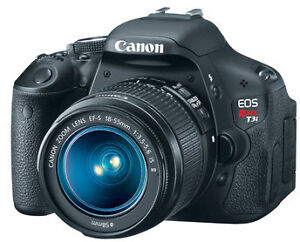 Canon EOS Rebel T3i with EF-S 18-55mm Lens - Black