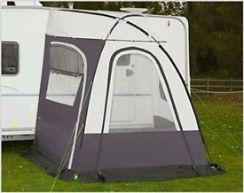 Caravan Porch Awning - Suncamp scenic complete with instructions - hardly used
