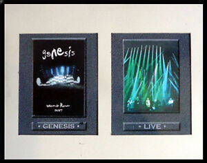GENESIS x3 signed When In Rome DVD Booklet + COA +Original Artwork