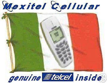 Mexitel cell phone 4 Cancun Mexico w/$10 air time incl.